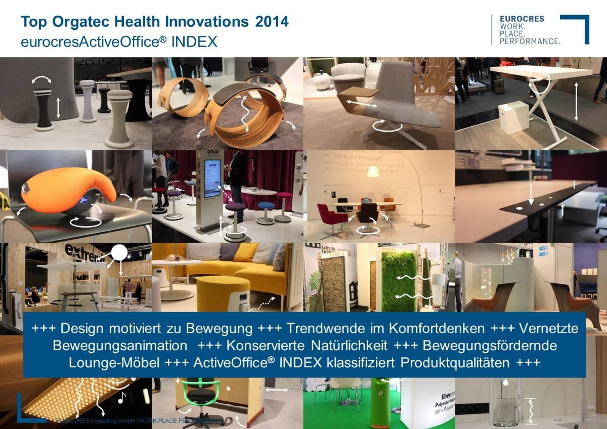 WorkPlace Flash: Top Orgatec Health Innovations 2014