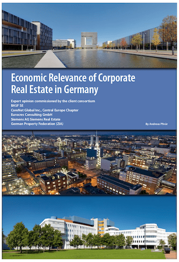 Economic Relevance of Corporate Real Estate in Germany