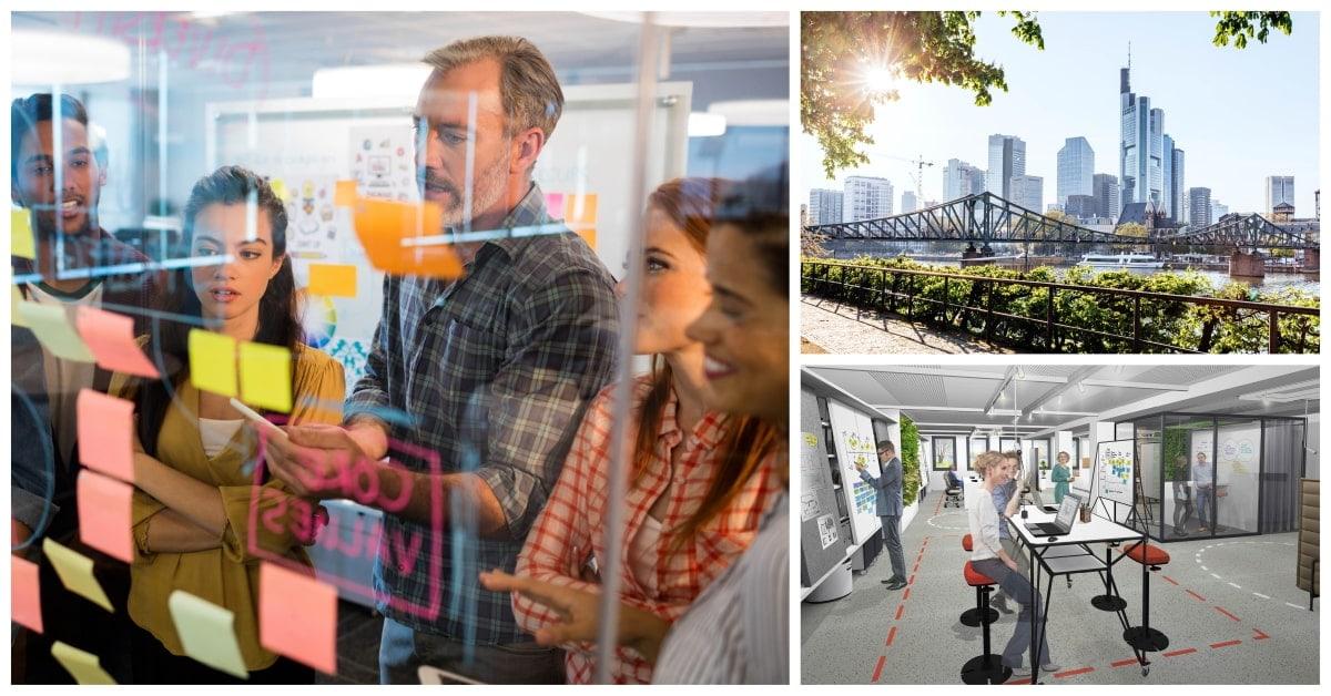 Mietangebot für Design Thinking & Agile Working Fläche im Herzen Frankfurts