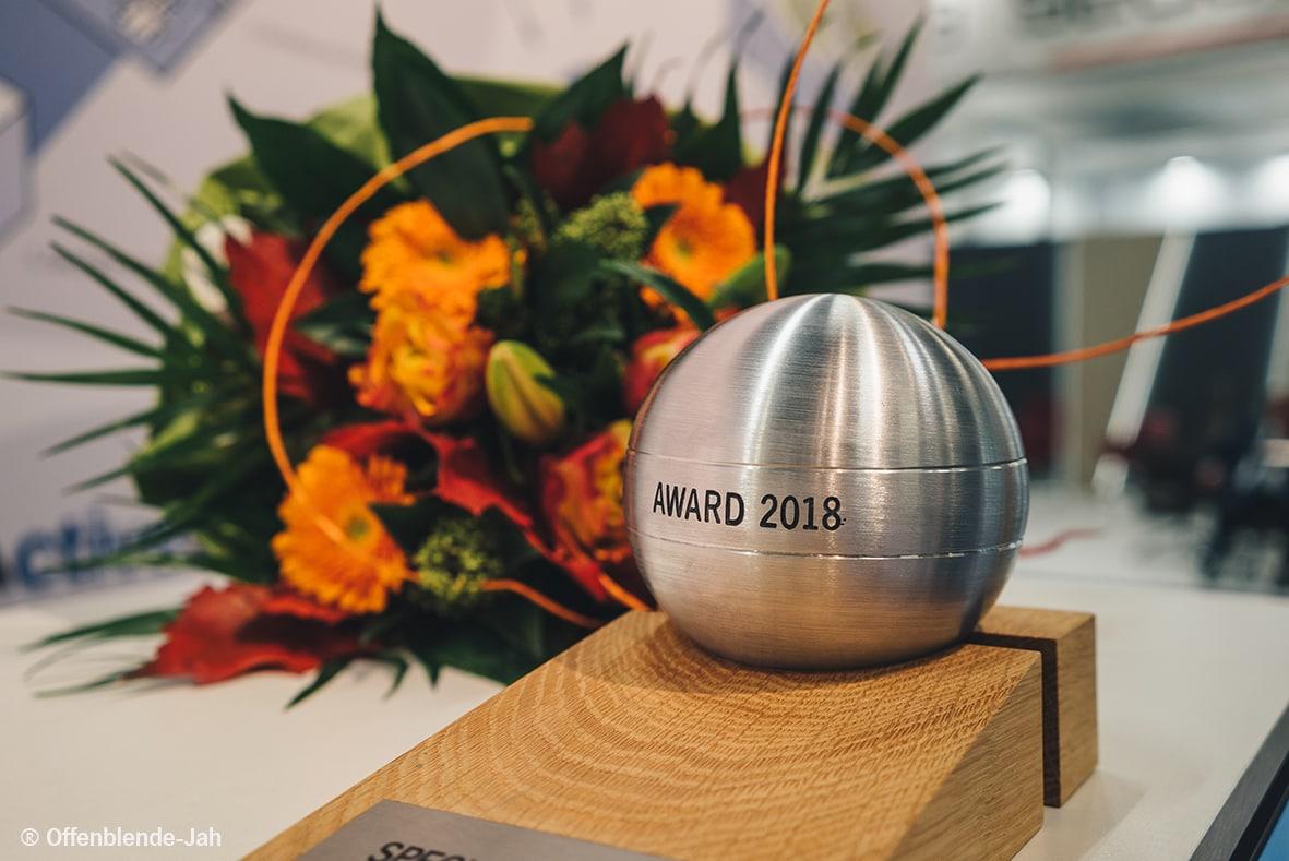 EUORCRES ActiveOffice Award 2018 Awardkugel