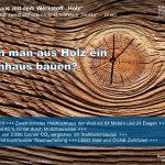 Kann man aus Holz ein Hochhaus bauen?