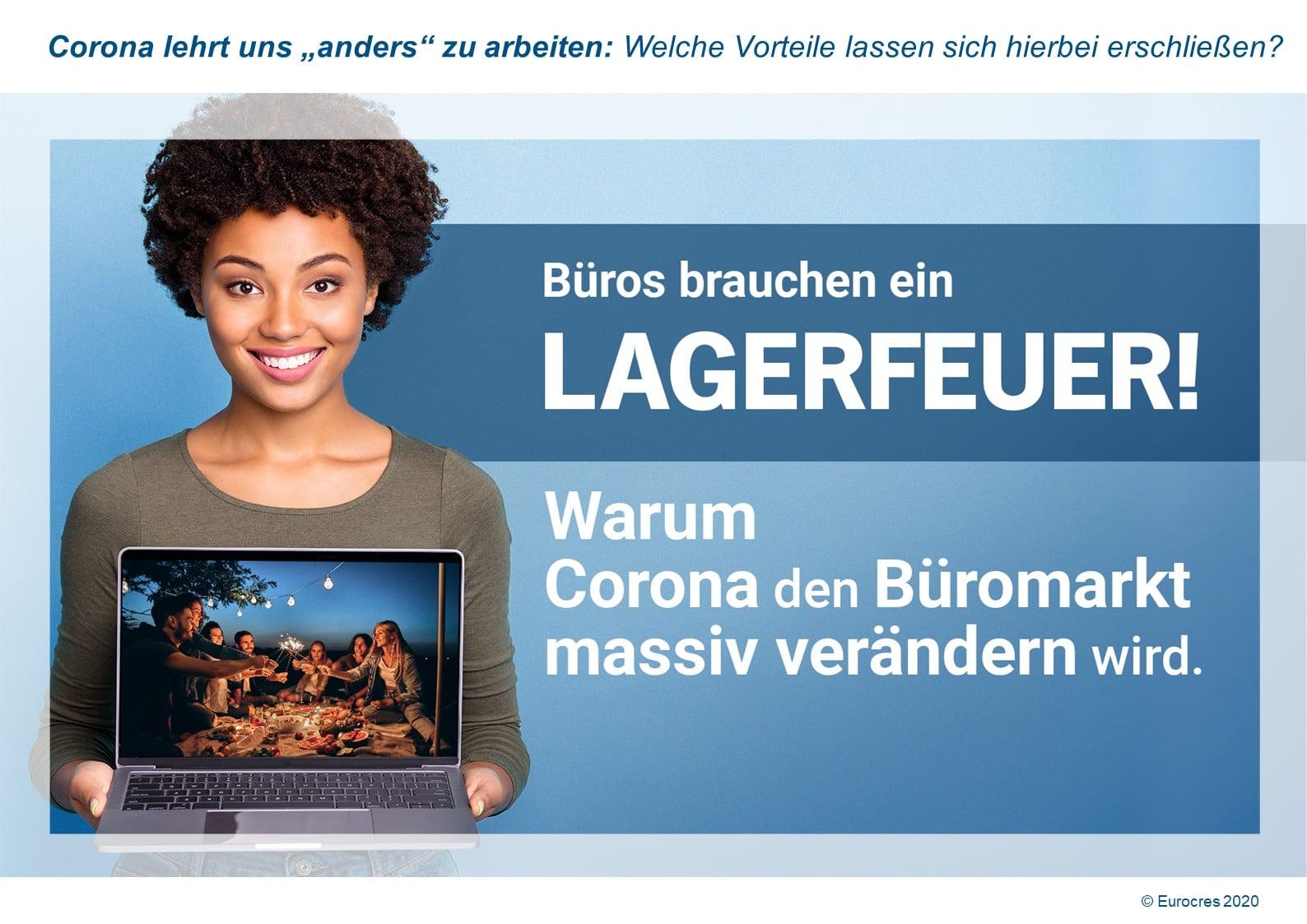 WorkPlace Flash: Wie Corona den Büromarkt massiv verändern wird