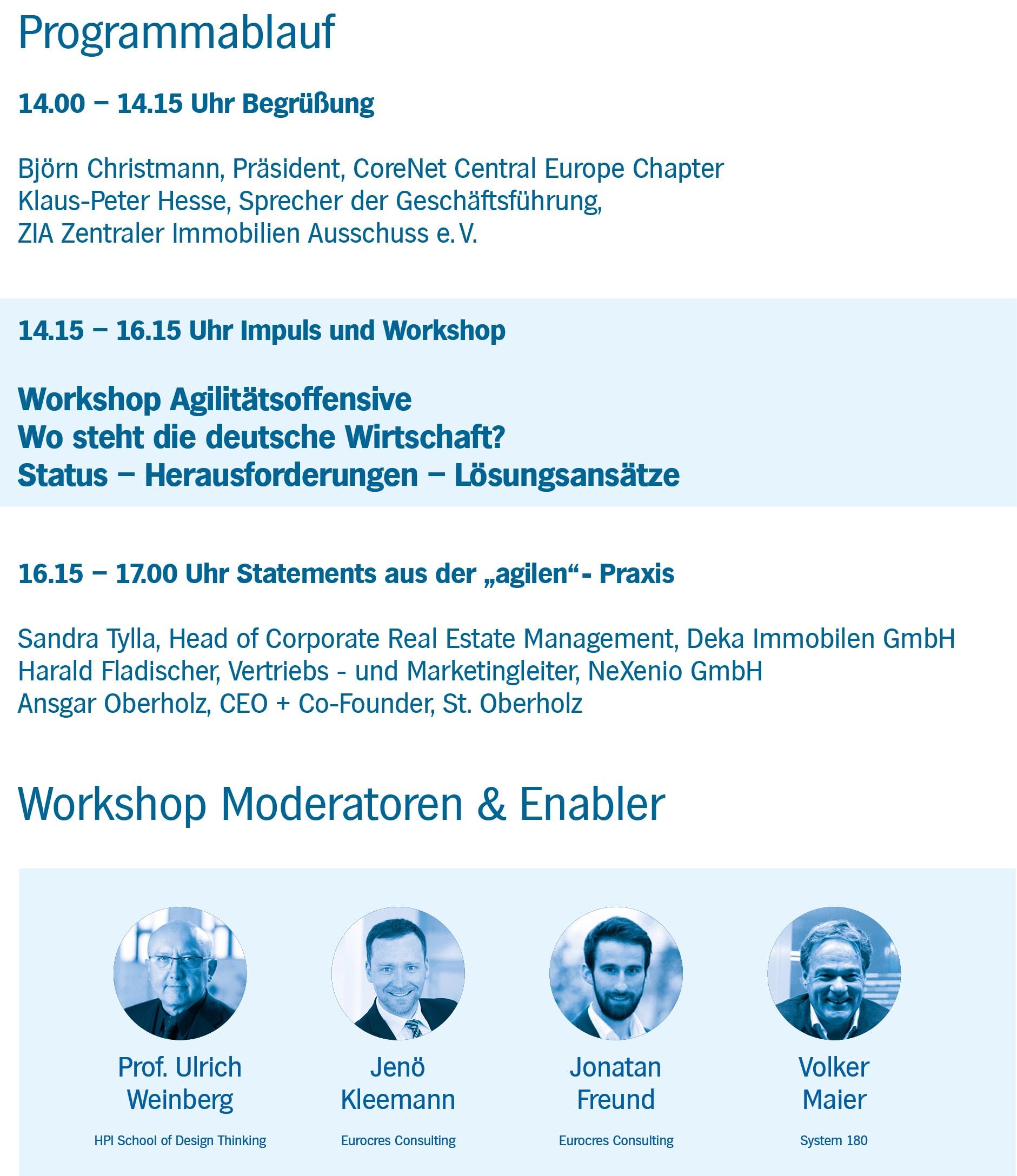 eurocres_workshop_agilitaetsoffensive_programmablauf